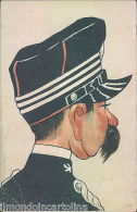 Aa942 - Militare - Esercito - Caricatura-carabinieri - Unclassified