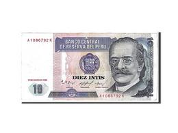 Pérou, 10 Intis Type 1987 - Pérou