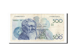 Belgique, 500 Francs Type Meunier - 500 Frank