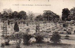 CPA PARIS - BOIS DE BOULOGNE - LA ROSERAIE DE BAGATELLE - Non Classés
