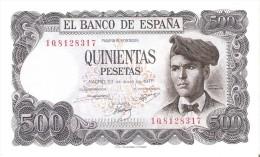 BILLETE DE ESPAÑA DE 500 PTAS DEL 23/07/1971 SERIE 1Q  SIN CIRCULAR-UNCIRCULATED - [ 3] 1936-1975 : Régimen De Franco