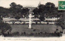 CPA PARIS - LE JARDIN DU LUXEMBOURG - Parcs, Jardins