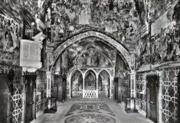 Subiaco - Santino Cartolina SACRO SPECO, INTERNO DELLA CHIESA DI SAN BENEDETTO 1966 - OTTIMO H94 - Religione & Esoterismo
