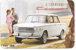 Pourquoi Une FIAT 1500? Publicité Et Caractéristiques Techniques Vers 1965. - Autos