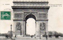 CPA PARIS - L´ARC DE TRIOMPHE DE L´ETOILE - Arc De Triomphe