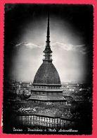 [DC5494] CARTOLINA - TORINO - PANORAMA E MOLE ANTONELLIANA - Viaggiata 1951 - Old Postcard - Mole Antonelliana