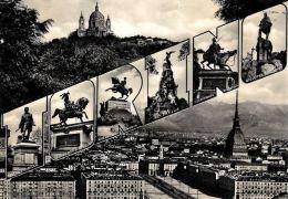 [DC5496] CARTOLINA - TORINO - PANORAMA - Viaggiata 1957 - Old Postcard - Non Classificati