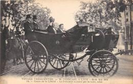 CPA 69 LYON VOYAGE PRESIDENTIEL POINCARE 1914 COURS DE LA LIBERTE PRESIDENT ACCLAME - Lyon
