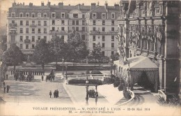 CPA 69 LYON VOYAGE PRESIDENTIEL POINCARE 1914 ARRIVEE PREFECTURE - Lyon