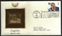 USA 1996 Music Series Songwriters Harold Arlen Film Cinema Movie Gold Replicas Cover Sc 3100 # 175 - Musique