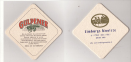 Gulpener Brauerei Limburg Holland , 2005 , Mooiste Wielerklassieker - Drink Op De Torekomst - Beer Mats