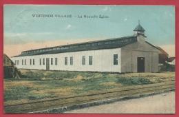 Westende - La Nouvelle Eglise / De Nieuwe Kerk - 1923 ( Verso Zien ) - Westende
