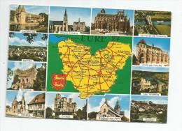 Cp , 27 , EURE , Carte Géographique , Multi-vues , Ed : Artaud 2 , Voyagée - Non Classés
