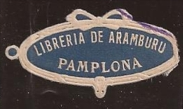 España, Viñeta Libreria Aramburu PAMPLONA - Viñetas De Fantasía