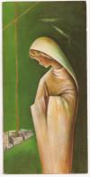 Estampillas Religiosas - VIRGEN (en Verde) - Documentos Históricos