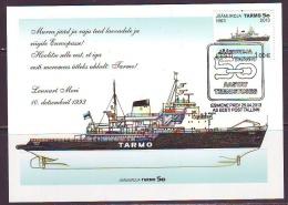 Estland 2013. Icebreaker Tarmo. Maxikarte. - Estonia