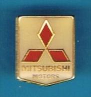 PIN´S //   ** LOGO * MITSUBISHI MOTORS ** - Mitsubishi