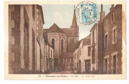 Vendée - 85 - Chavagnes En Paillers Une Rue En 1951 - France