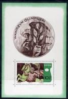 POLAND 1970 Olympic Academy Block  MNH / ** . Michel Block 41 - 1944-.... Republic
