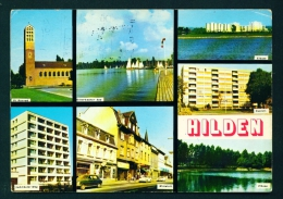 GERMANY  -  Hilden  Multi View  Used Postcard As Scans - Hilden