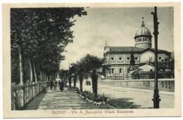 VENETO-VICENZA-SCHIO VEDUTA VIA A.BACCARINI(VIALE STAZIONE) - Italia