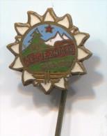 Alpinism, Mountaineering, Climbing - SARAJEVO, Bosnia & Herzegovina, Enamel, Vintage Pin Badge - Alpinismus, Bergsteigen