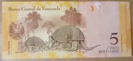 Venezuela 2011 UNC. CINCO Bolivares. NEGRO PRIMERO. Cuspon. 2 Scan. See Description. - Venezuela