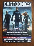Captain America The Winter Soldier Movie Film Carte Postale - Unclassified