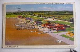 AEROPORT / AIRPORT / FLUGHAFEN     CLEVELAND MUNICIPAL AIRPORT - Aerodrome