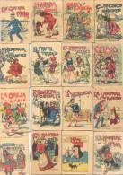 83 CUENTOS DIFERENTES DE S. CALLEJA MADRID - OBSEQUIOS DEL TE SOL - CIRCA 1910 ESPAÑA BUEN ESTADO - Arts, Loisirs
