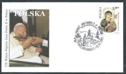 2002 VATICANO VIAGGI DEL PAPA POLONIA BIELSKO BIALA - SV11 - FDC