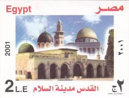 Stamps EGYPT 2001 SC-1780 JERUSALEM THE CITY OF PEACE  MNH  */* - Egypt