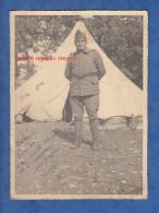 Photo Ancienne - ZANNOUCH , Tunisie - Portrait D'un Militaire Devant Sa Tente - Voir Uniforme - Janvier 1940 - War, Military