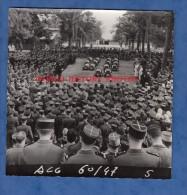 Photo Ancienne - ALGER ? ( Algérie ) - Enterrement De Militaire - Cérémonie à Identifier  - Gendarme ? Chasseurs ?- 1960 - War, Military