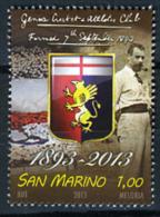 2013 - SAN MARINO - SAINT-MARIN -  120 Anni Del Genoa Cricket And Football Club -   NH - (**) - New Mint - Cricket