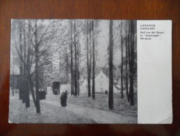 """Lodovico Cavaleri - Nell´ora Dei Vespri Al """"beguinage"""" (Bruges) - Peintures & Tableaux"""