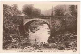 ANZEME . 23 .le Pont Du Diable .animée.1940 - France