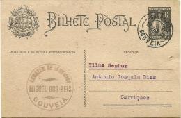 Gouveia - Carviçaes - 1931 (holed) - Ganzsachen