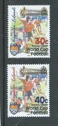 Cayman Islands 2002 Soccer World Cup Set 2 MNH - Cayman Islands