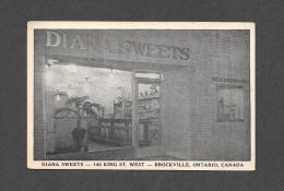 BROCKVILLE - ONTARIO - RESTAURANT DIANA SWEETS 140 KING WEST - Brockville