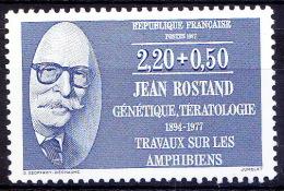 Jean Rostand, Biologist, Cryogenics - France MNH, - Mother Teresa