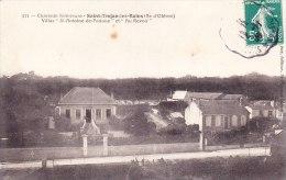 """Cpa 17 Saint Trojan Les Bains (ile D'Oleron) Villas St Antoine De Padoue Et """"au Revoir"""" N° 311 - Ile D'Oléron"""