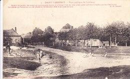 Cpa 02 Dagny Lambercy Place Publique De Lambercy Située A La ...jeantes Et à Coingt...cl Romet Animée Rare - Autres Communes
