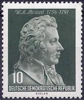 German Republic 1956 - Amadeus Mozart ( Mi 510 - YT 235 )  MNH **