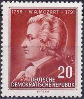 German Republic 1956 - Amadeus Mozart ( Mi 511 - YT 236 )  MNH **