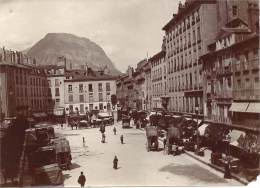 E1 Photo - 38 - GRENOBLE - Isère - Place Grenette - Old (before 1900)