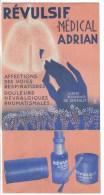 CPSM IMPRIME PUBLICITE PHARMACEUTIQUE - Révulsif Médical ADRIAN Labo. ADRIAN & Cie 9 Et 11 R. De La Perle Paris 3° - Pubblicitari