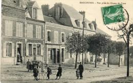 CPA - MARCOUSSIS (91) - Aspect Des Maisons Près Du Champ De Foire En 1910 - Altri Comuni