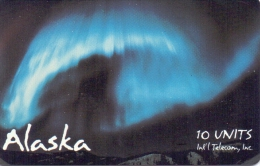 ALASKA PHONECARD(CHIP) AURORA BOREALIS 10 UNITS-5000pcs-MINT - Schede Telefoniche