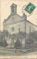TOP 1596   CPA  VAUVERT Le Petit Temple   Belle Carte - France